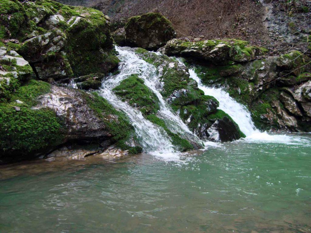 Водопад Кесух (Чепсинский)