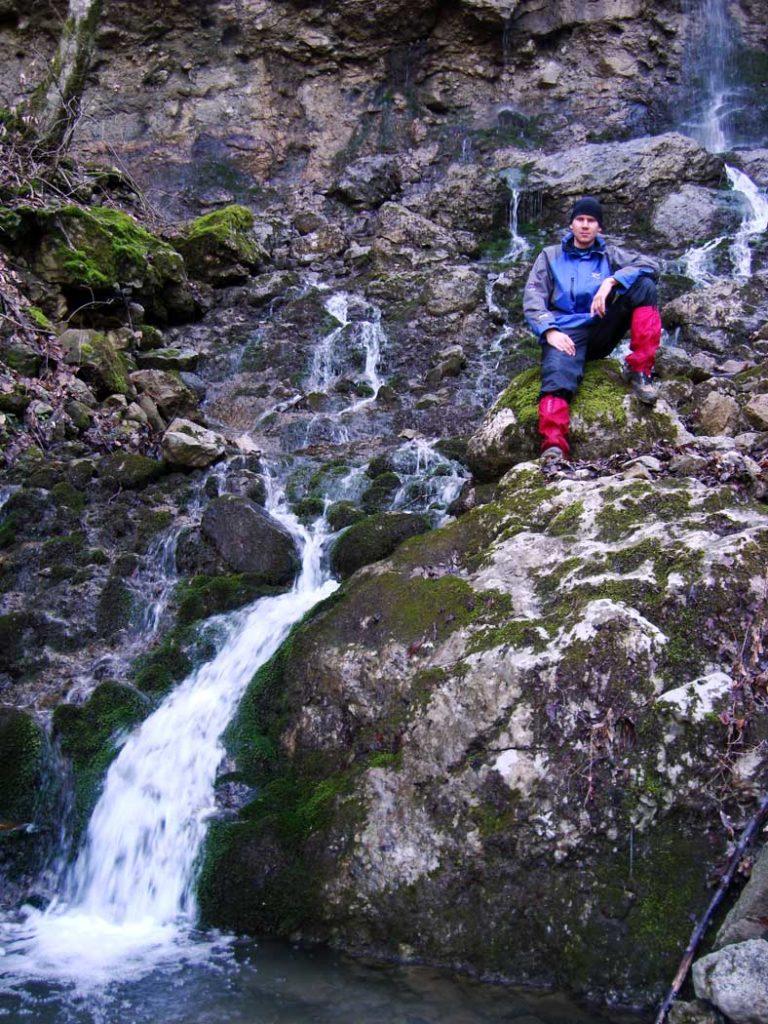 Водопад Парковый Верхний и я