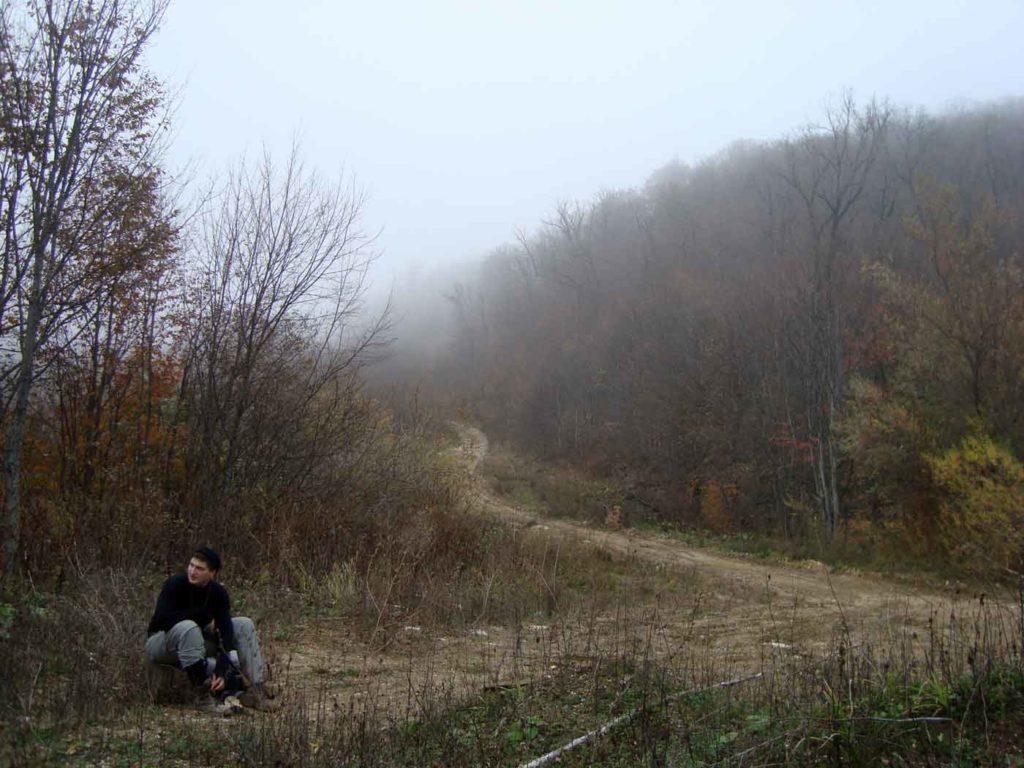Дорога на плато Черногор