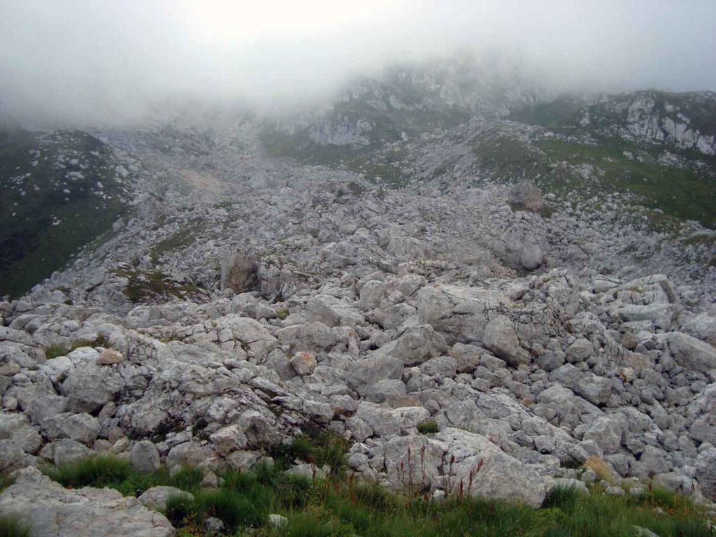 Каменные осыпи Пшеха-Су