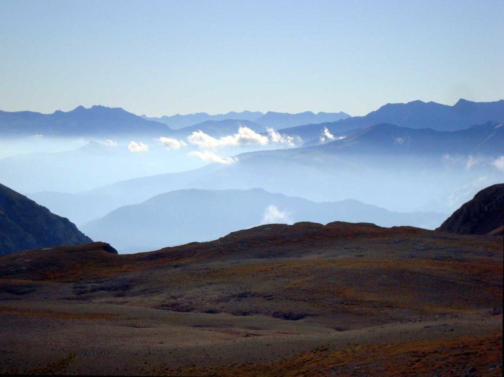 Вид с горы Пшеха-Су