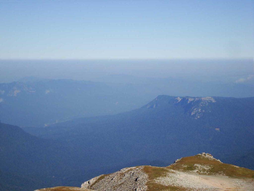 В сторону плато Черногор