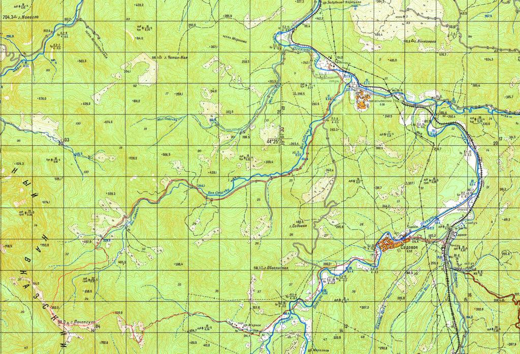 Карта Почепсуха