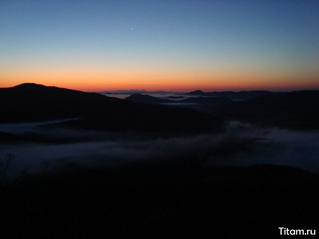 Вид в сторону Главного кавказского хребта
