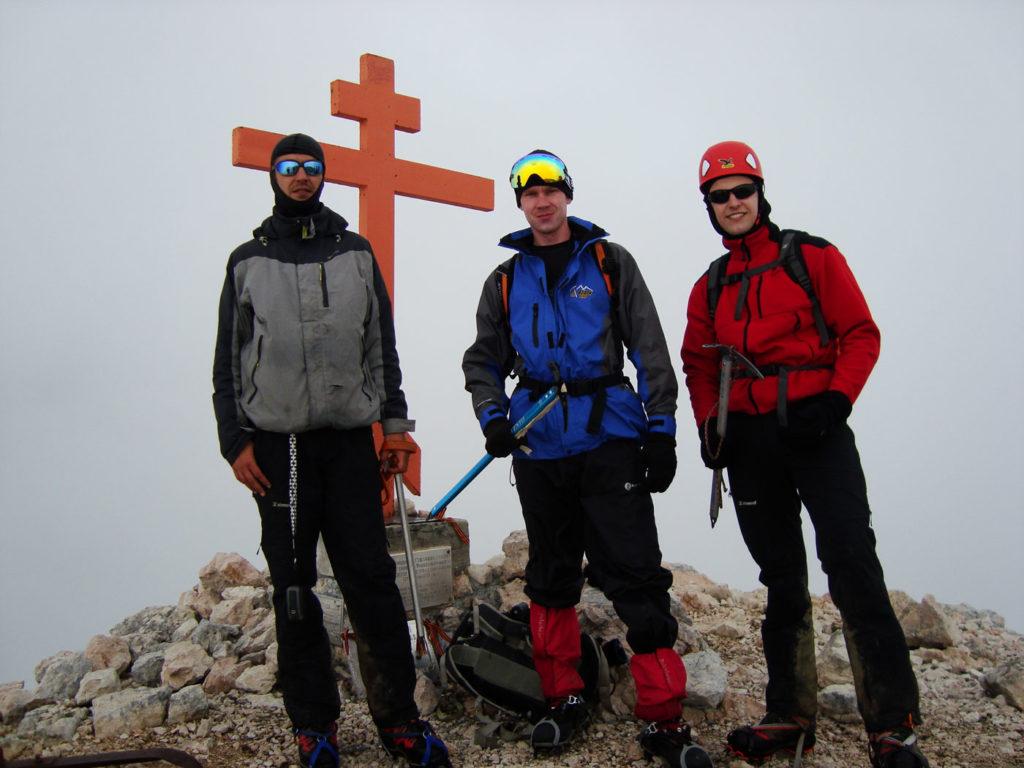Андрей, Андрей и Дима (слева-направо)