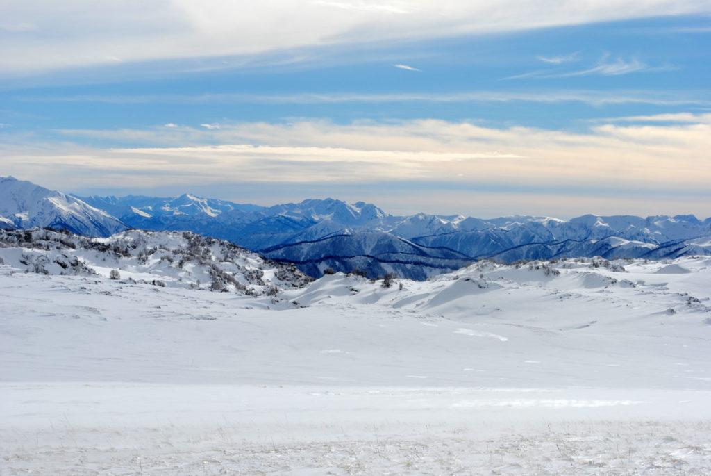 Вид в сторону ГКХ зимой