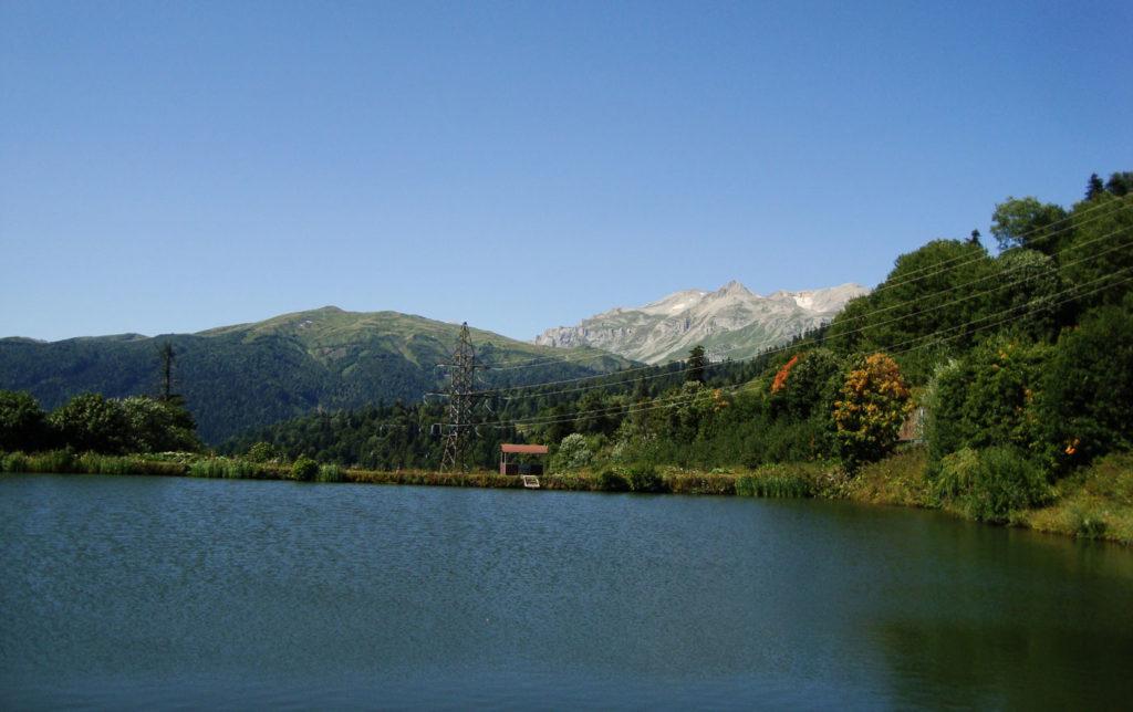 Озеро перед Яворовой поляной