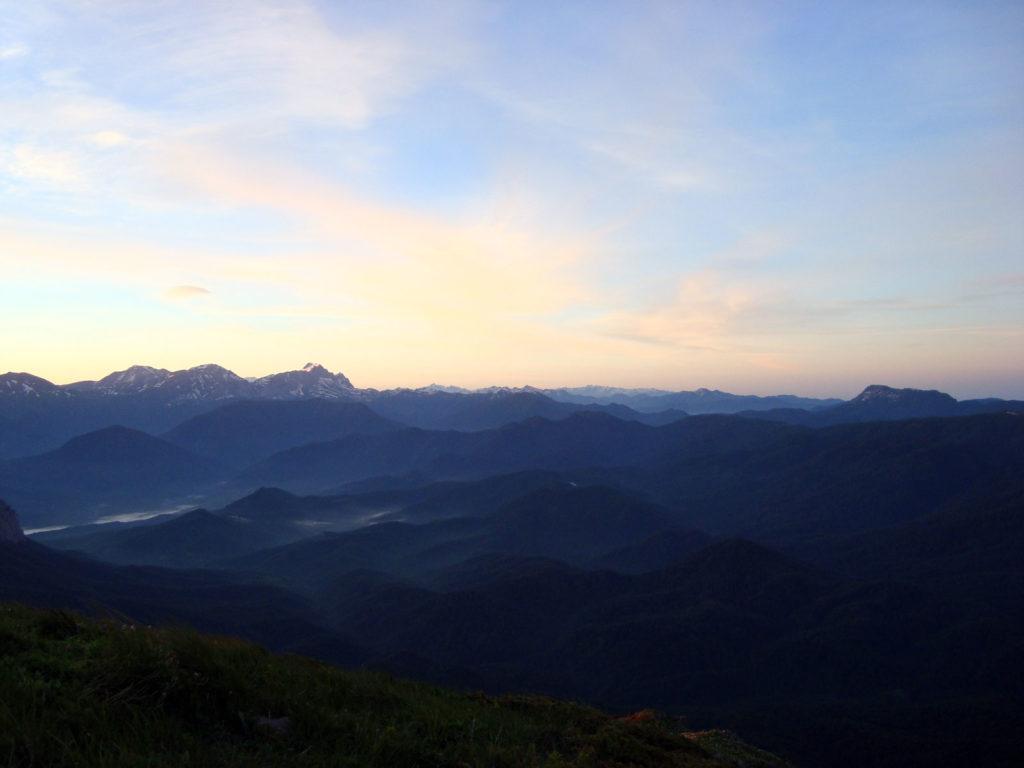 Лагонаки и гора Аутль