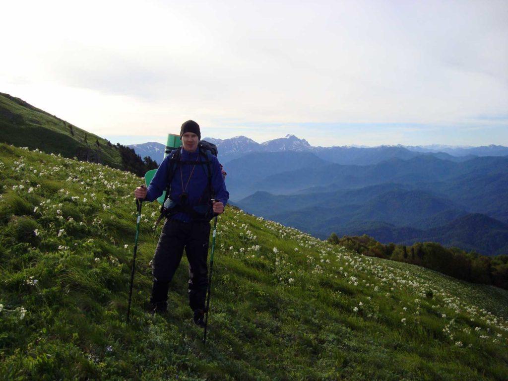 На склонах горы Шесси