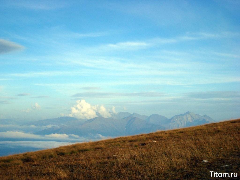 Краснополянские вершины