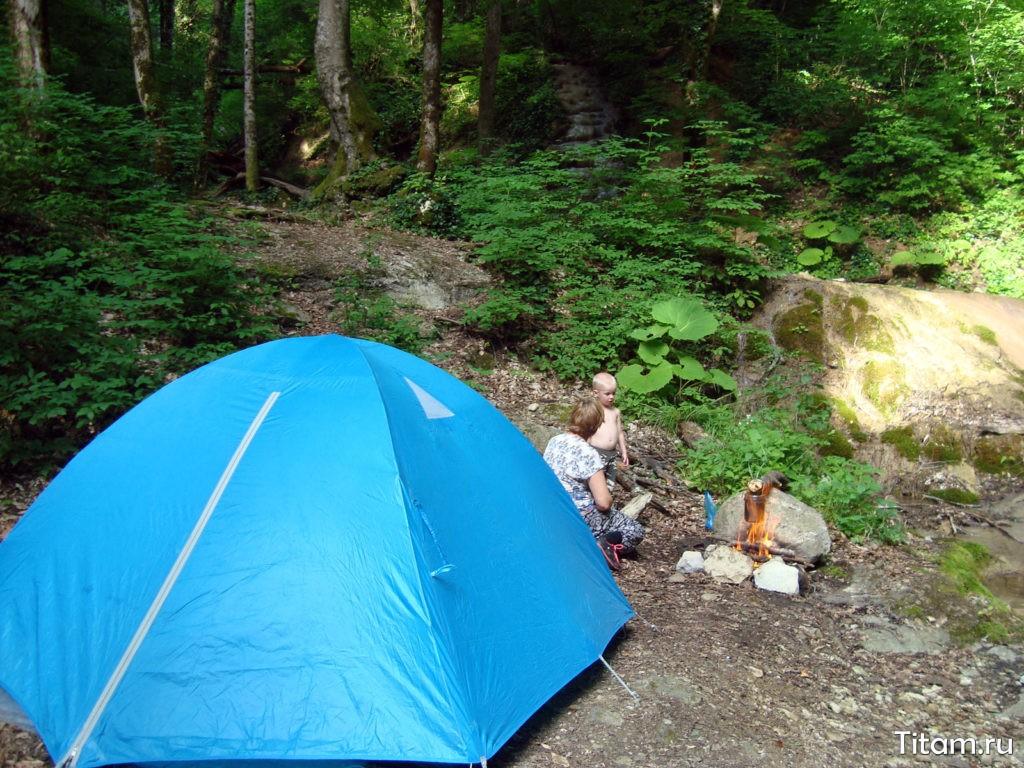 Место под палатку