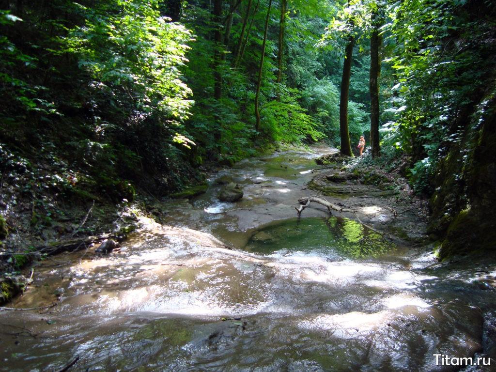 Ручей Тамбовская щель