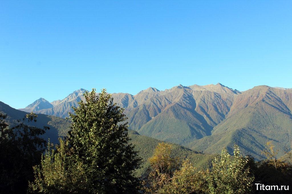 Главный Кавказский хребет и Чугуш