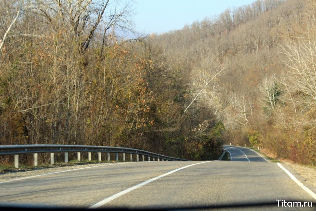 Дорога на Шаумянский перевал