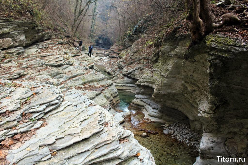 Каньон реки Таштай