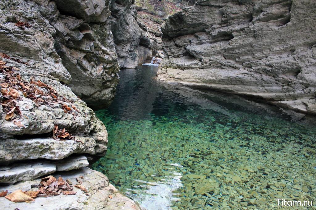 Каньон реки Таштай (Бешенка)