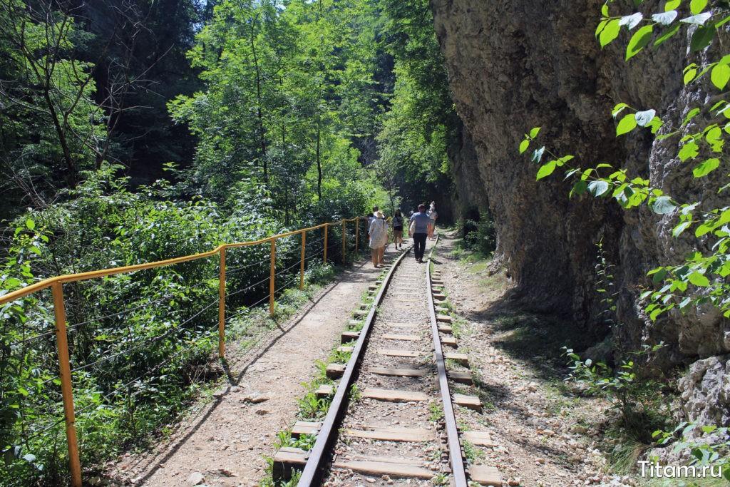 Железная дорога Гуамского ущелья