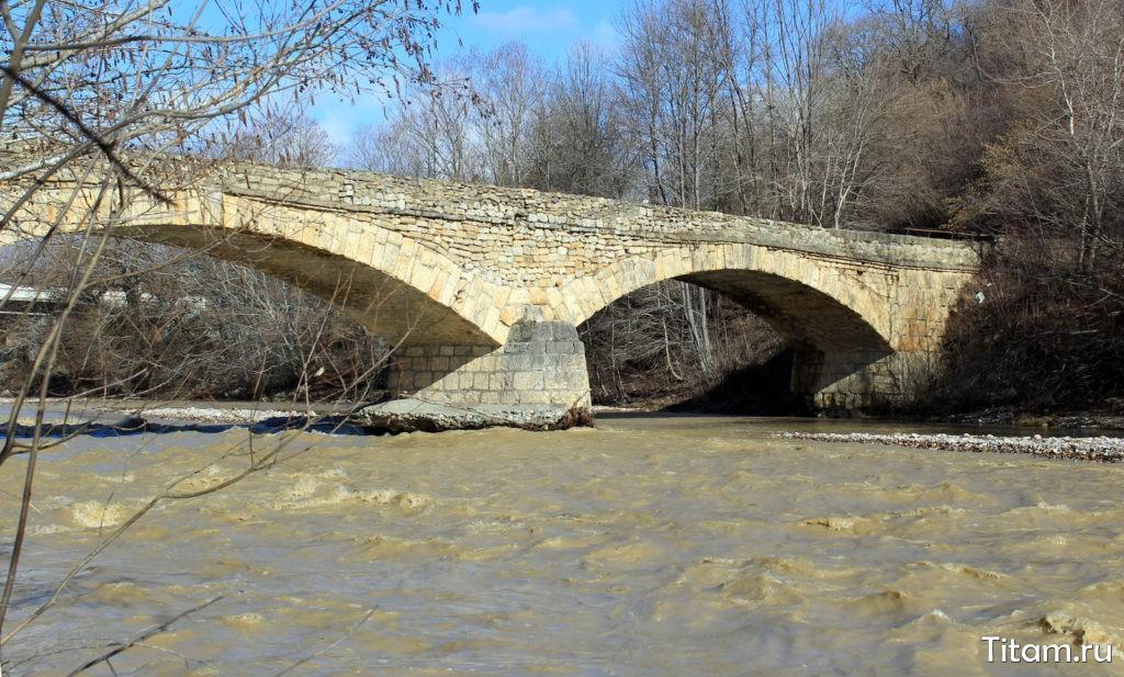 Старый Даховский мост