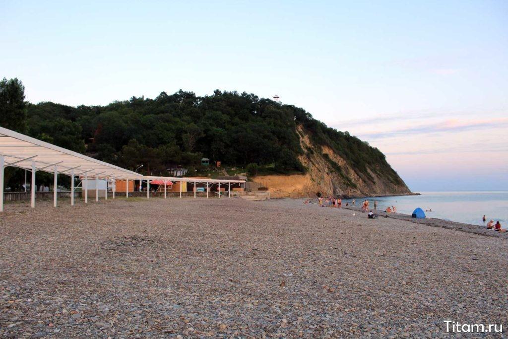 Пляж. Криница