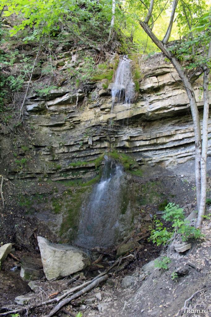 Водопад Утаённый