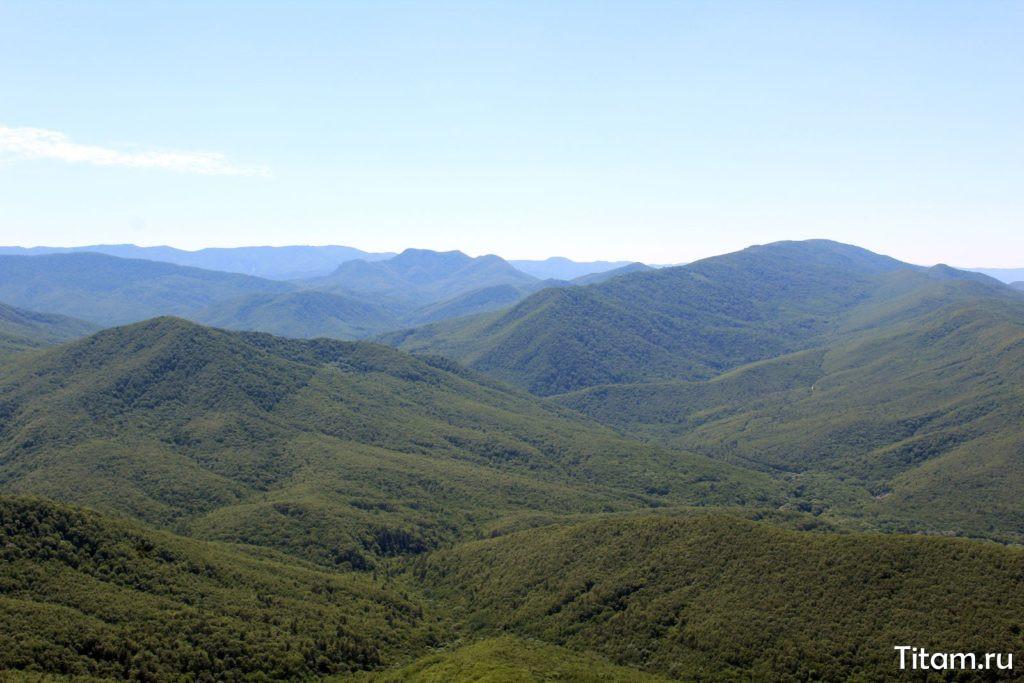 Вид на гору Папай