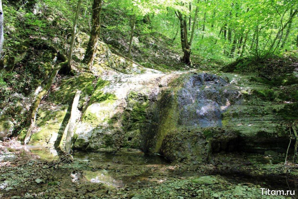 Верхний Полковничий водопад
