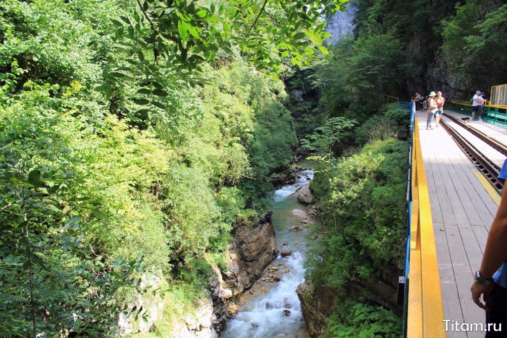 Мост через ручей Сухая балка