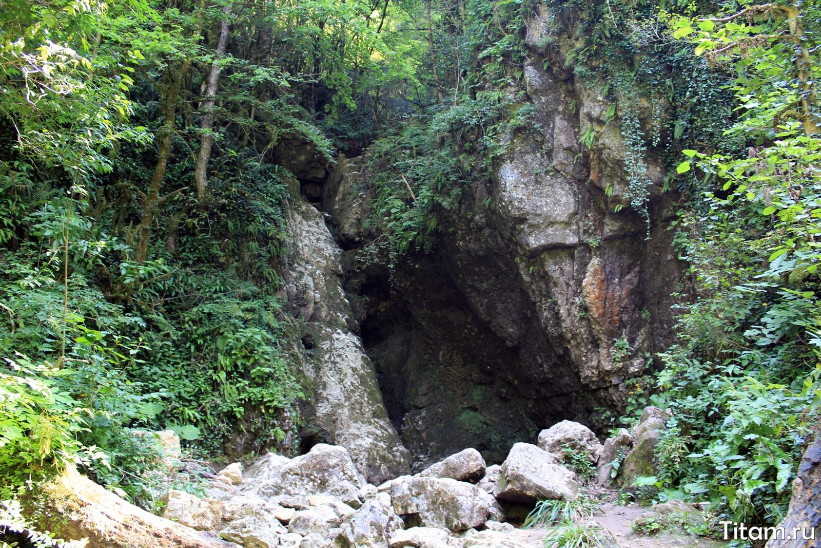 Водопад Сандиков