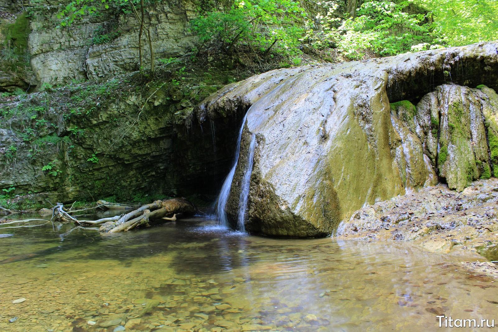 Водопад Нос