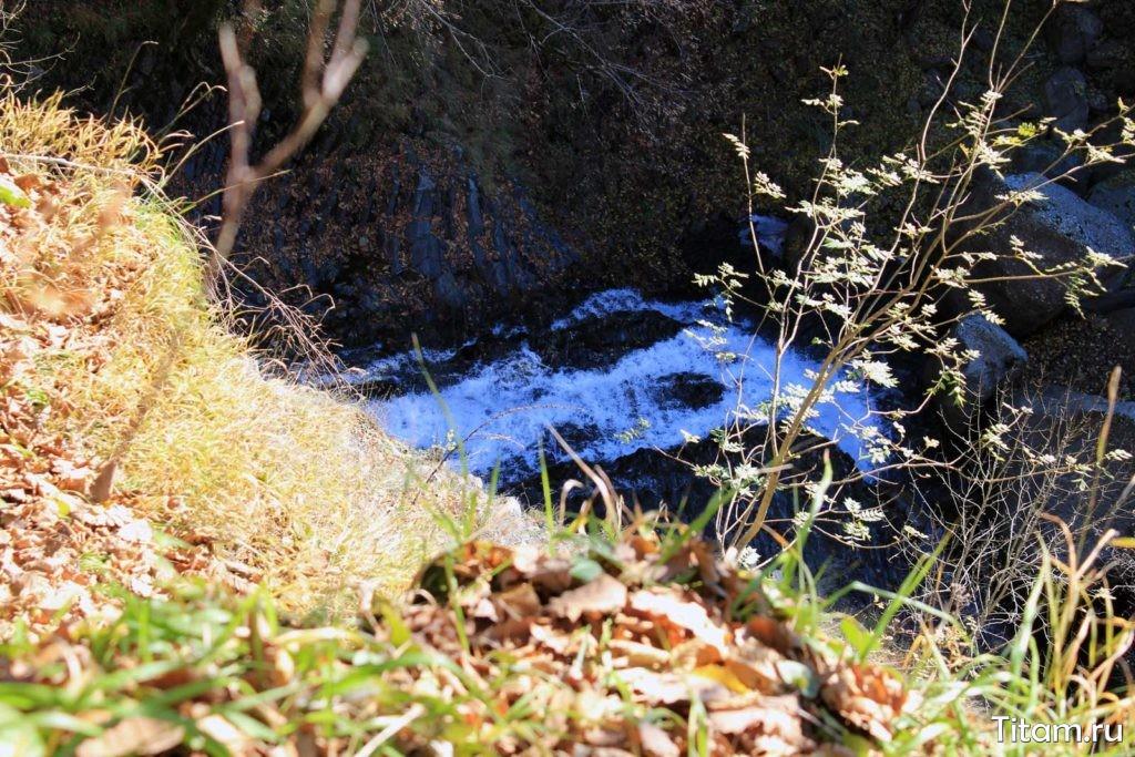 Водопад Малые Наужи