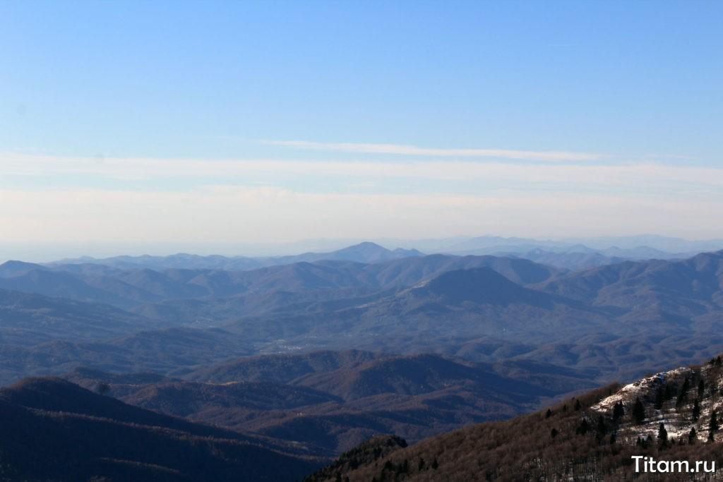 Вид на запад