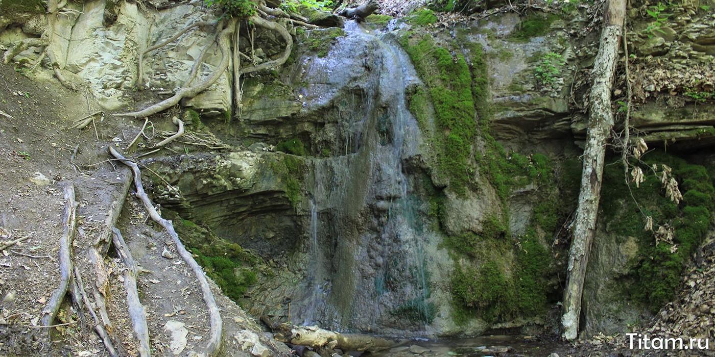 Водопад Мужские слезы Собер