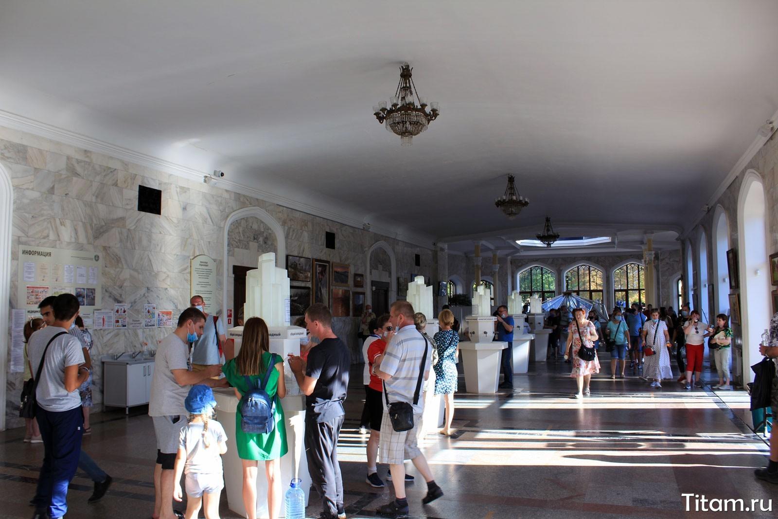 Кисловодская нарзанная галерея