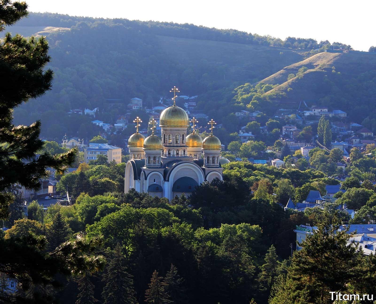 Свято-Никольский собор. Кисловодск