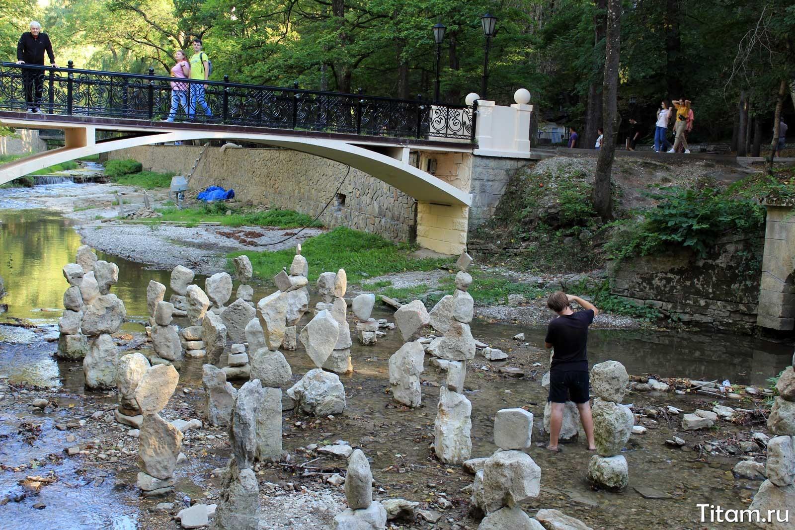 Каменные изваяния реки Ольховка