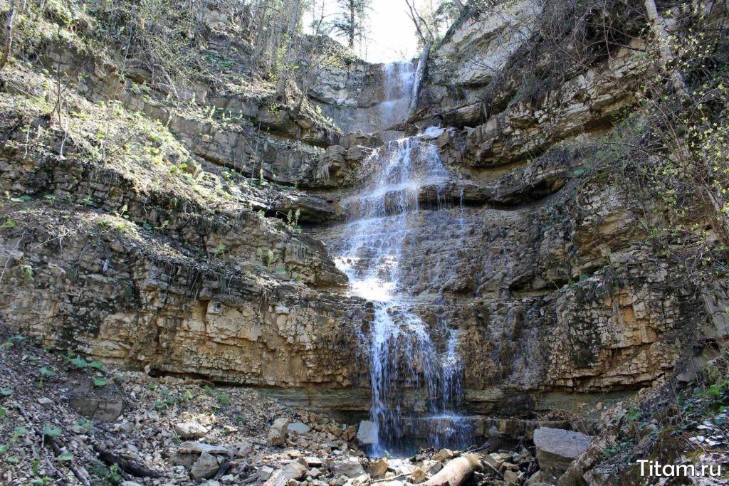 Водопад Алебастровый