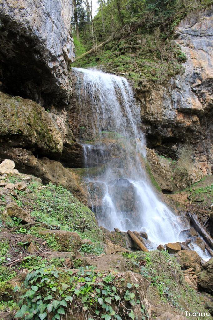 Водопад Университетский