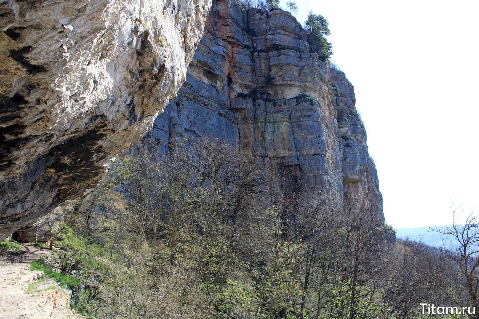 Скалы у Орлиной полки