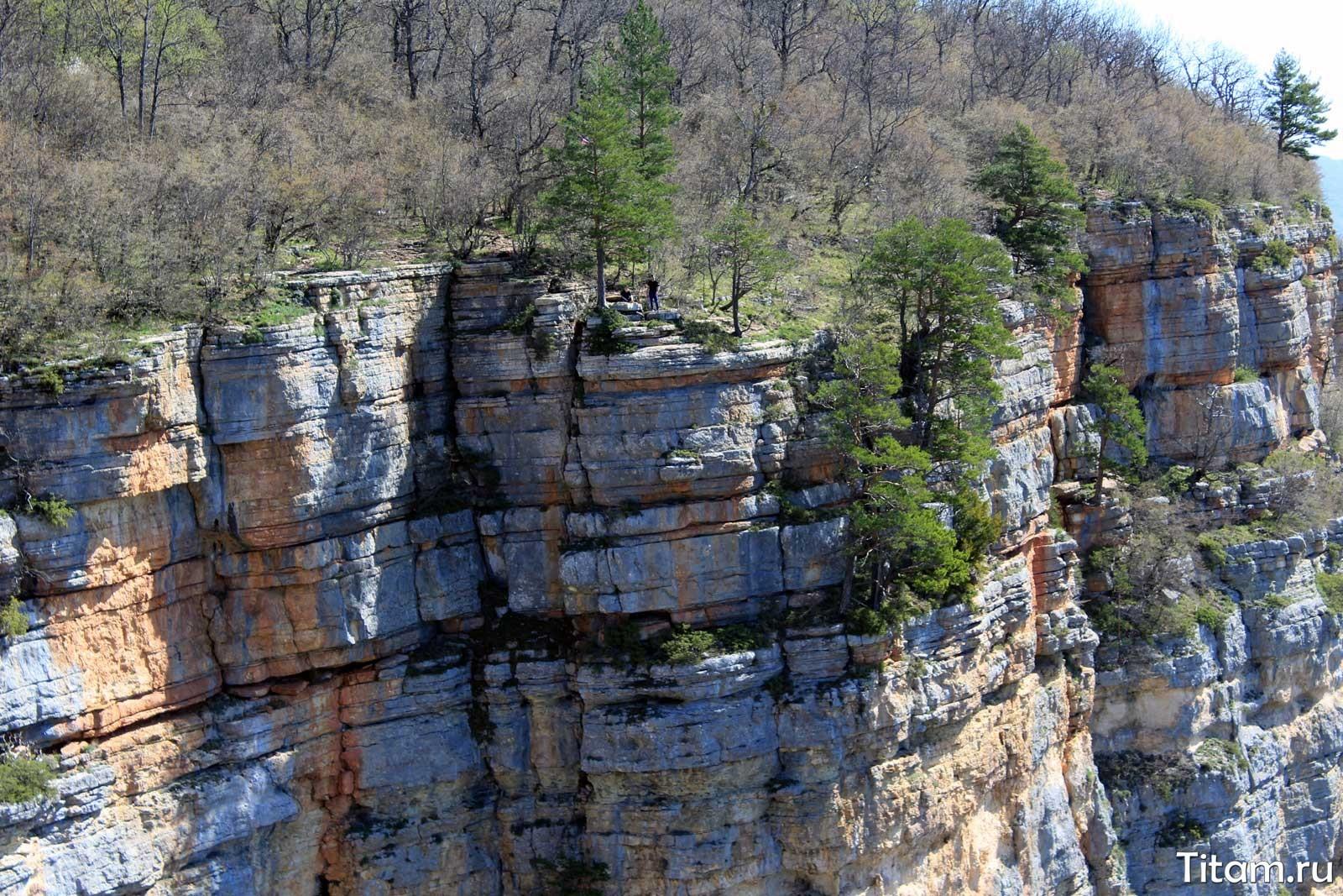 Скалы над Орлиной полкой