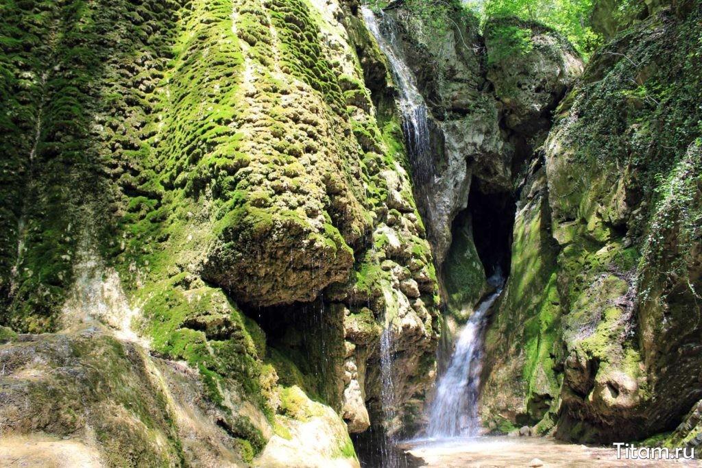 Водопад Грот