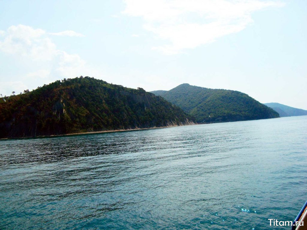 Голубая бездна с моря