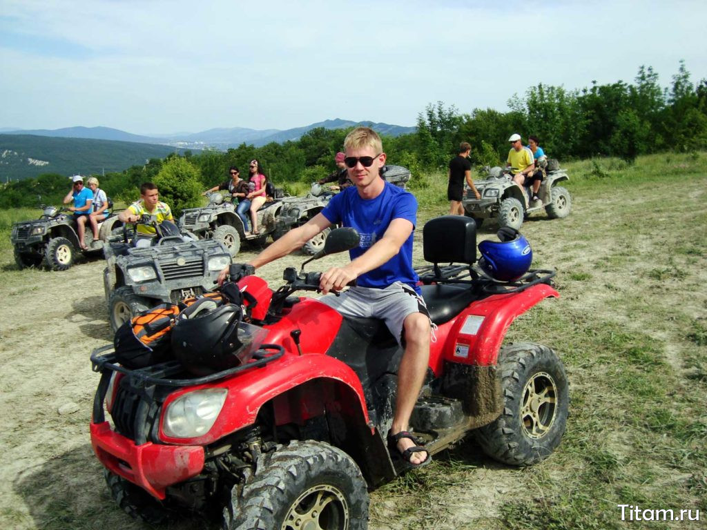 Квадроциклинг в Геленджике