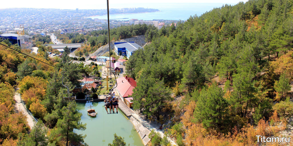 Парк Олимп в Геленджике
