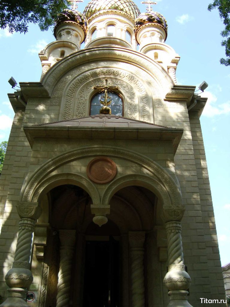 Старый парк в Кабардинке. Православная часовня