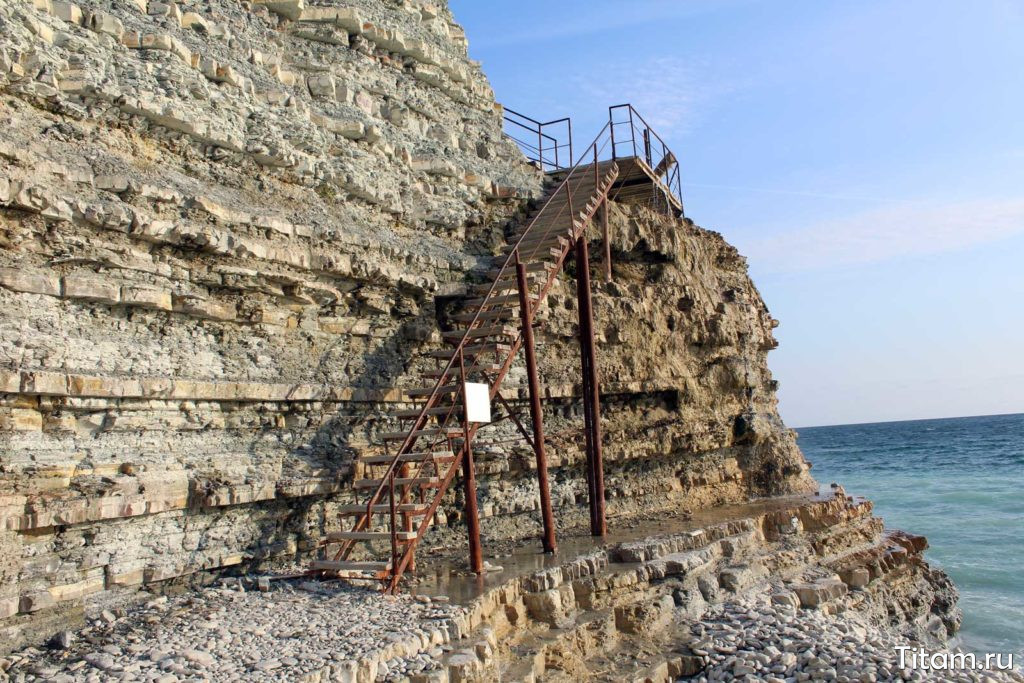 "Лестница на пляж ""Сосновка"""