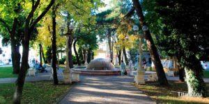 Первомайский сквер. Геленджик