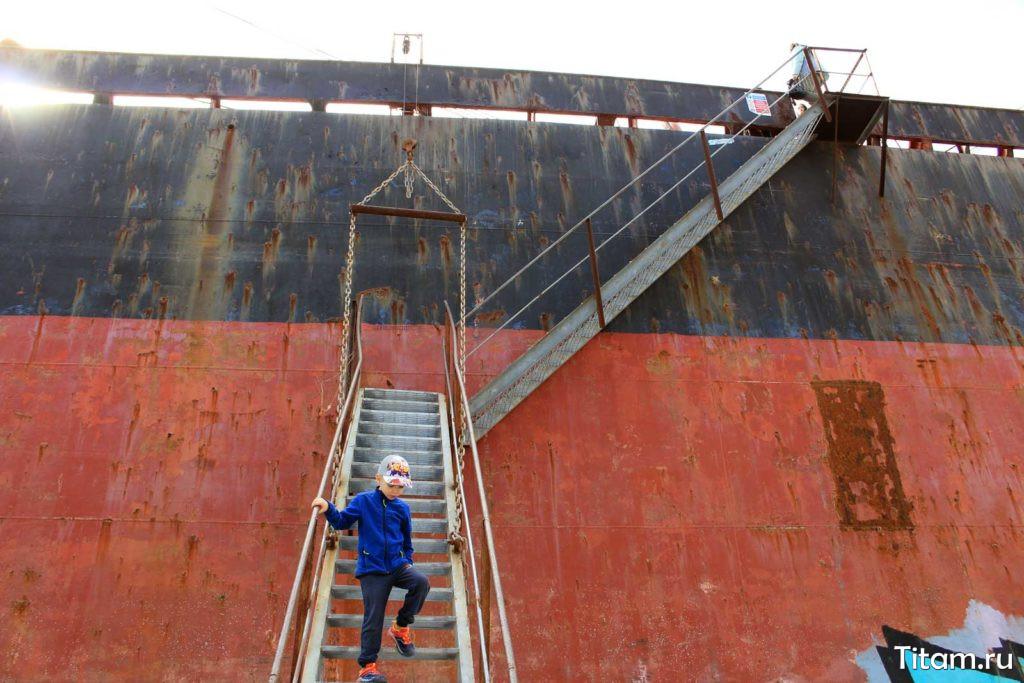Лестница на судно
